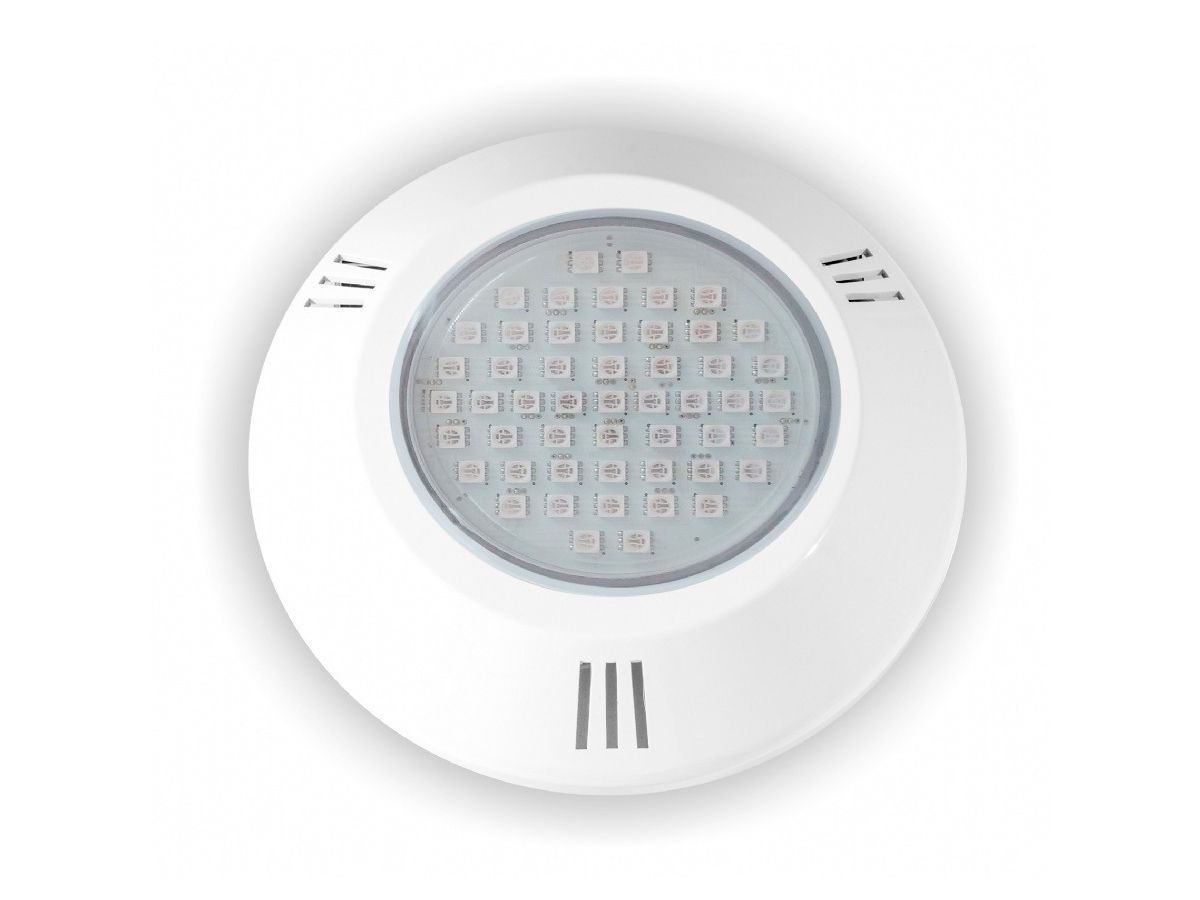 Power LED SMD 5W ABS Branco Frente Baixa Brustec