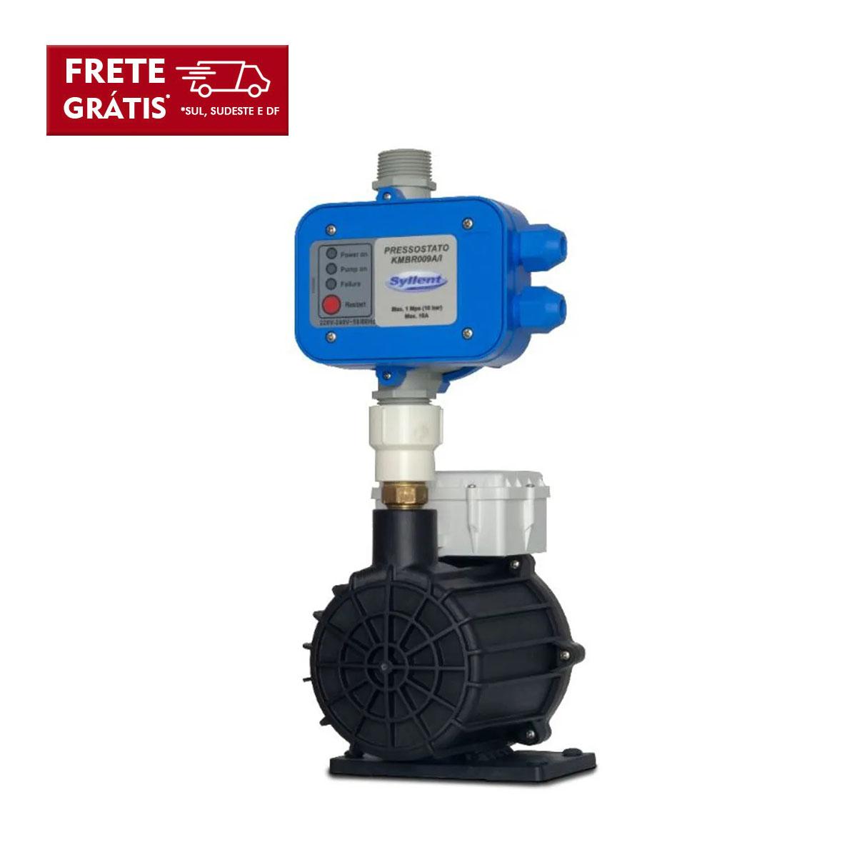 Pressurizador Água Fria com Pressostato Syllent Mb63e0009amp/prel 350W 220V