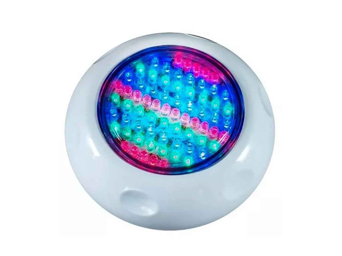 Refletor LED RGB 70 Lâmpadas Brustec