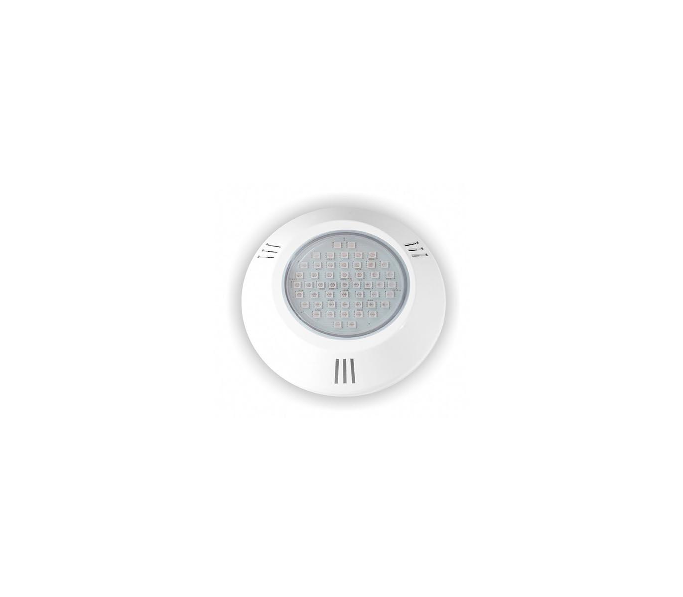 Refletor Power LED 9W ABS RGB Rosca Brustec
