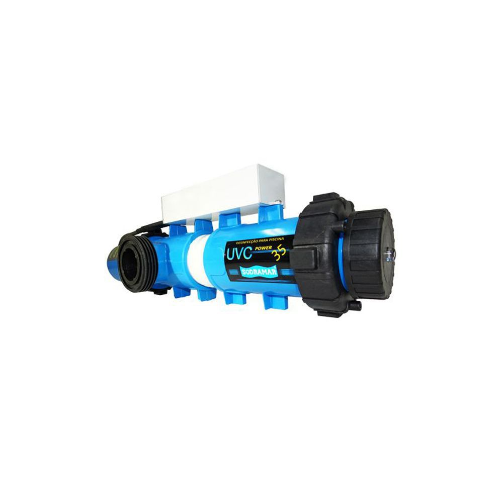 Tratamento Ultra Violeta Sodramar ABS 5.5 m³/h - Lâmpada 35w