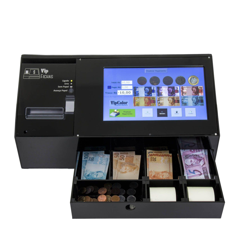 Caixa Registradora Touch Screen  - Turn-o-Matic