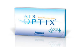 Lentes de Contato Air Optix Aqua para pronta entrega