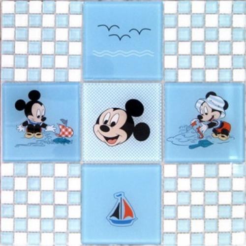 Pastilha 1,5x1,5/10x10 Disney-01 PÇ Colortil