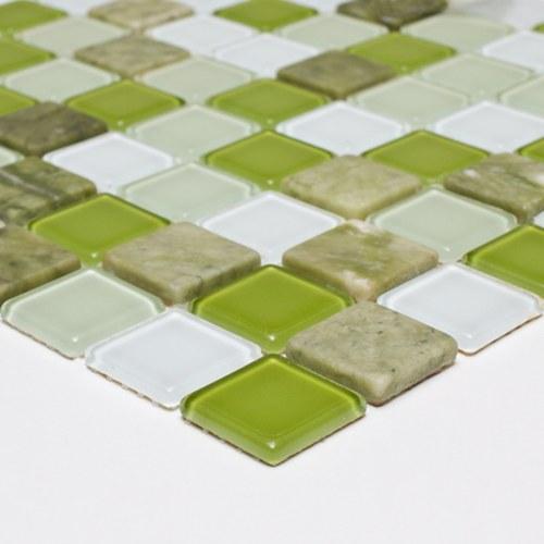 Pastilha 3,0x3,0 Mix Mosaic Green Pç (saldo de Estoque) Van Gogh