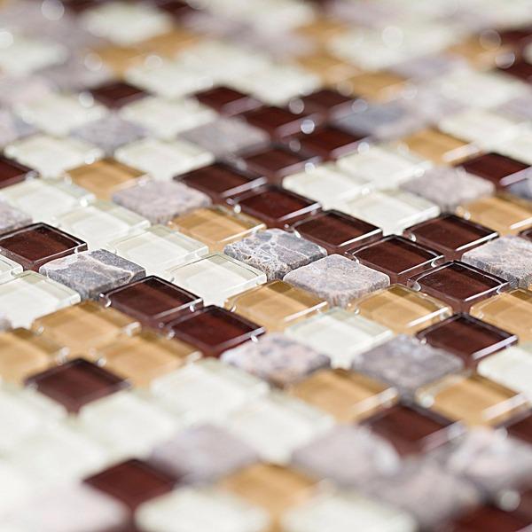 Pastilha 1,5x1,5 Mix Mosaic Coffe Pç Van Gogh
