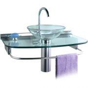 Lavabo Cris-glass Quartzo 70x45,5 978 Crismetal