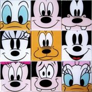 Pastilha 10x10 Disney-23 PÇ Colortil