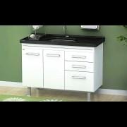 Gabinete Cozinha Criattiva 1,14M Branco Pç Fimap