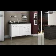 Gabinete Cozinha Magnus 1,14m Branco Pç Fimap