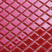 Pastilha de Vidro 30x30 Vermelha Lbg23-RED 2,3X2,3 La Bella
