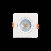 Mini Spot Led 5W 3000K Embutir Quadrado Bivolt Luminatti