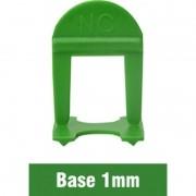 Nivelador Espaçador de Piso 1mm (pct 100pçs) Nivelacerto