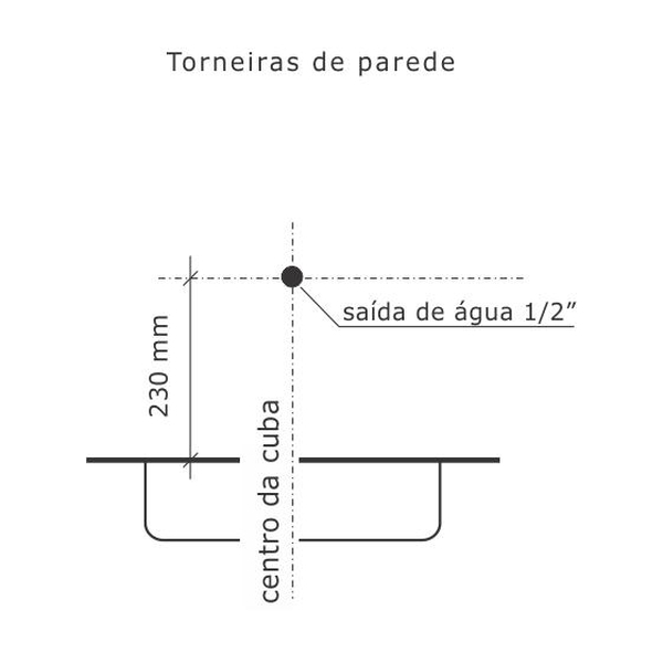 Torneira Aquarius Cromado Top Jet (25 Cm) 1170-A Fabrimar