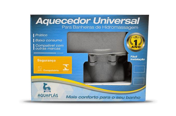 Aquecedor Universal 220v 5200W P/banheiras Aquaplás