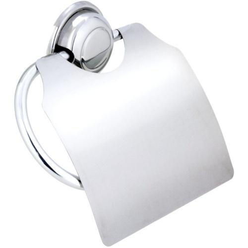 Cristal Master Alumínio/aço Porta Papel Sanitário com Tampa Cris-14 Moldenox