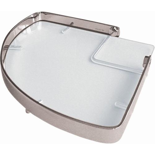 Hillux Porta Shampoo Canto com Vidro 050t-HLCRCR Moldenox