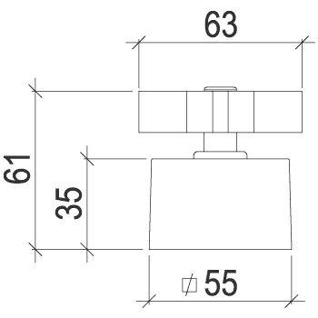Acabamento C88 para Registro 1/2,3/4 e 1 4901 Lorenzetti