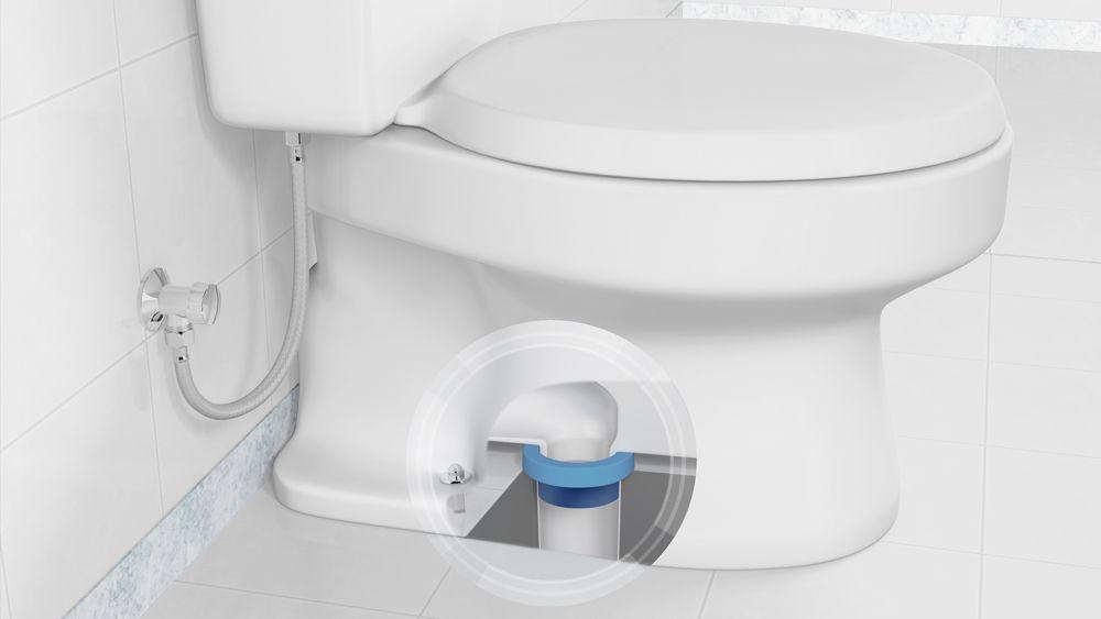Anel de Vedação para Vaso Sanitário C/Guia Mebuki
