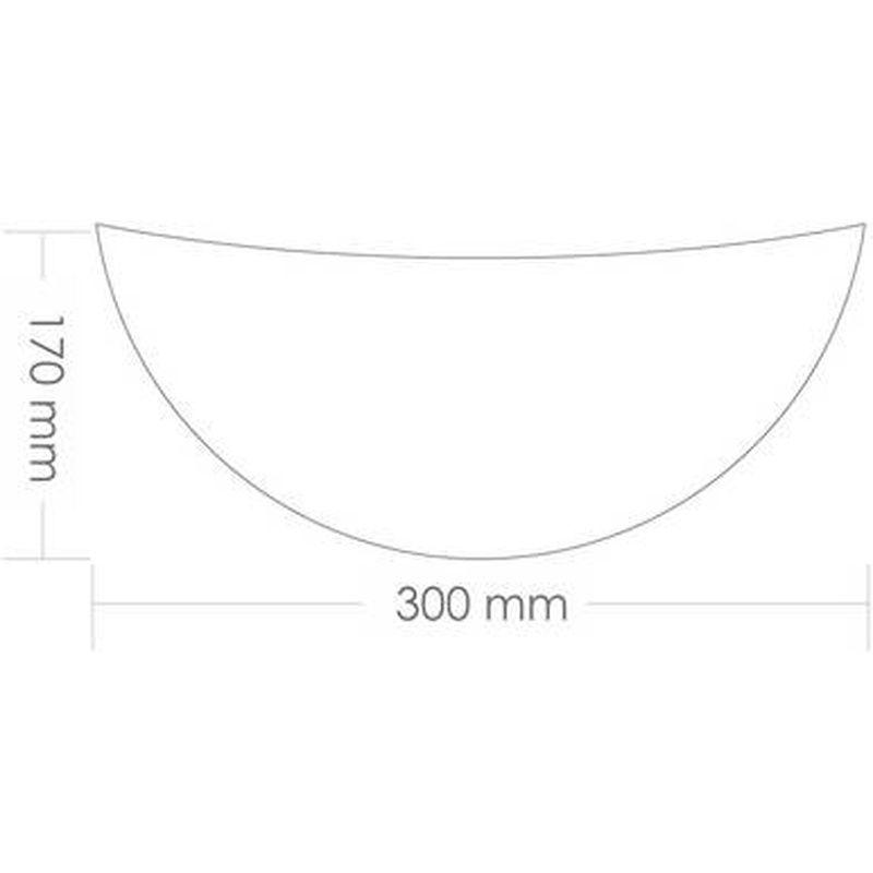 Arandela Jurerê Sem Lâmpada Potência Máxima 40W Taschibra