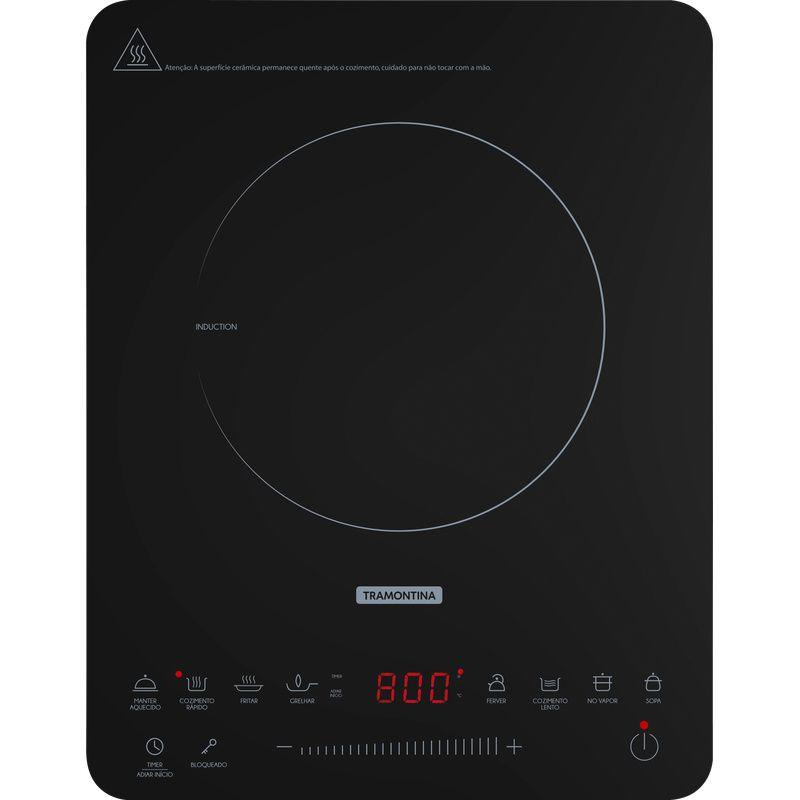 Cooktop Portatil Indução Mono Slim Touch Ei30 127V Vitrocerâmico 94714/131 Tramontina