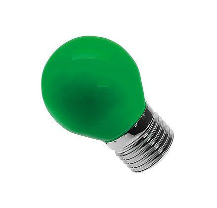 Lâmpada Bolinha Led 6W Verde E27 Bivolt Luminatti