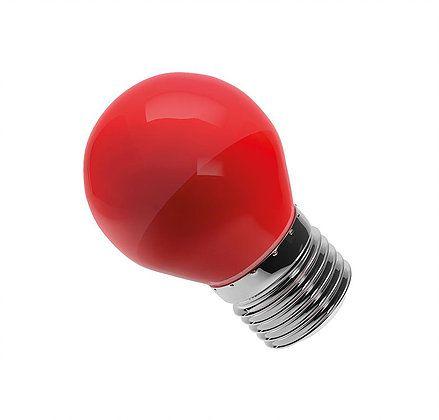 Lâmpada Bolinha Led 6W Vermelha E27 Bivolt Luminatti