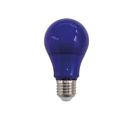 Lâmpada Bulbo Led 10W Azul E27 Bivolt Luminatti