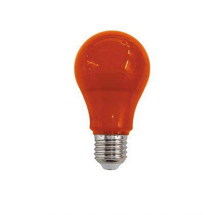 Lâmpada Bulbo LED 10W Laranja E27 Bivolt Luminatti