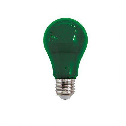 Lâmpada Bulbo Led 10W Verde E27 Bivolt Luminatti