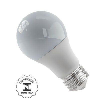Lâmpada Bulbo Led 12W 3000K E27 Bivolt Luminatti