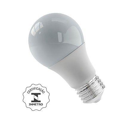 Lâmpada Bulbo LED 9W 6500K E27 Bivolt Luminatti