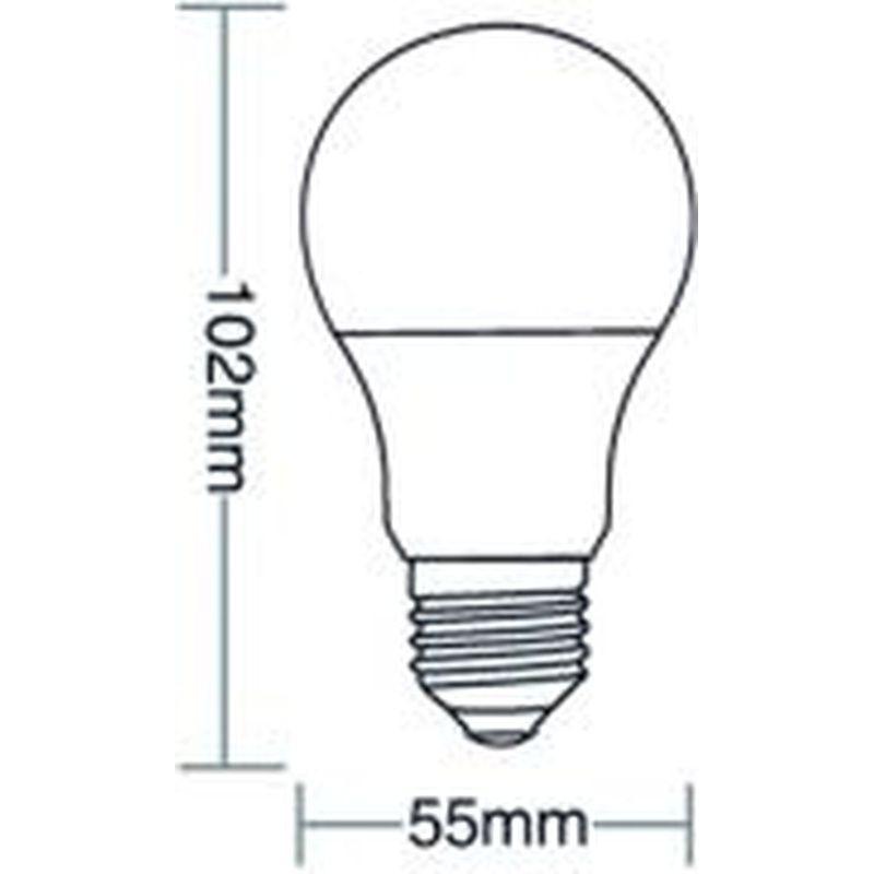 Lâmpada Bulbo Led TKL 30 4,9W 3000K 100/240V Taschibra