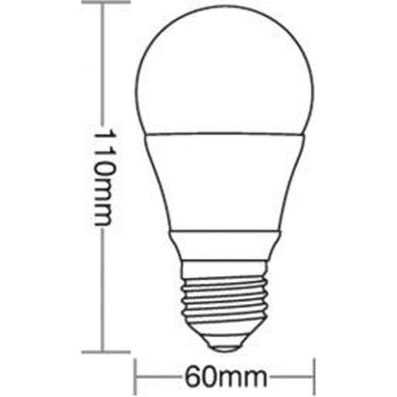 Lâmpada Bulbo LED TKL 40 7W 3000K 100/240V Taschibra