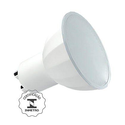 Lâmpada Dicroica LED 7W 2700K GU10 Bivolt Luminatti