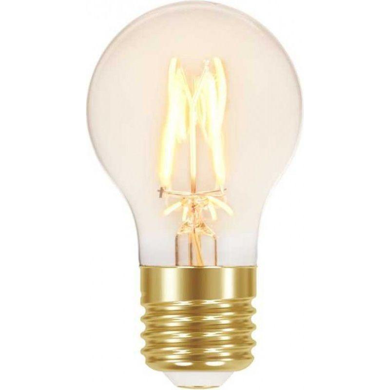 Lâmpada Filamento LED A60 Vintage 4W 110/240V Âmbar Taschibra