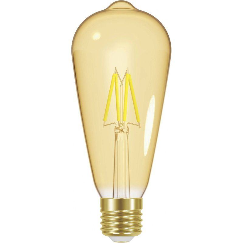 Lâmpada Filamento LED ST64 Vintage 4W 110/240V Âmbar Taschibra