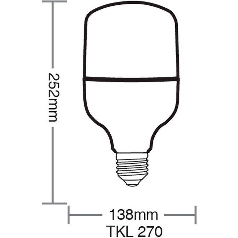 Lâmpada High Led TKL280 50W 6500K 100/240V Taschibra