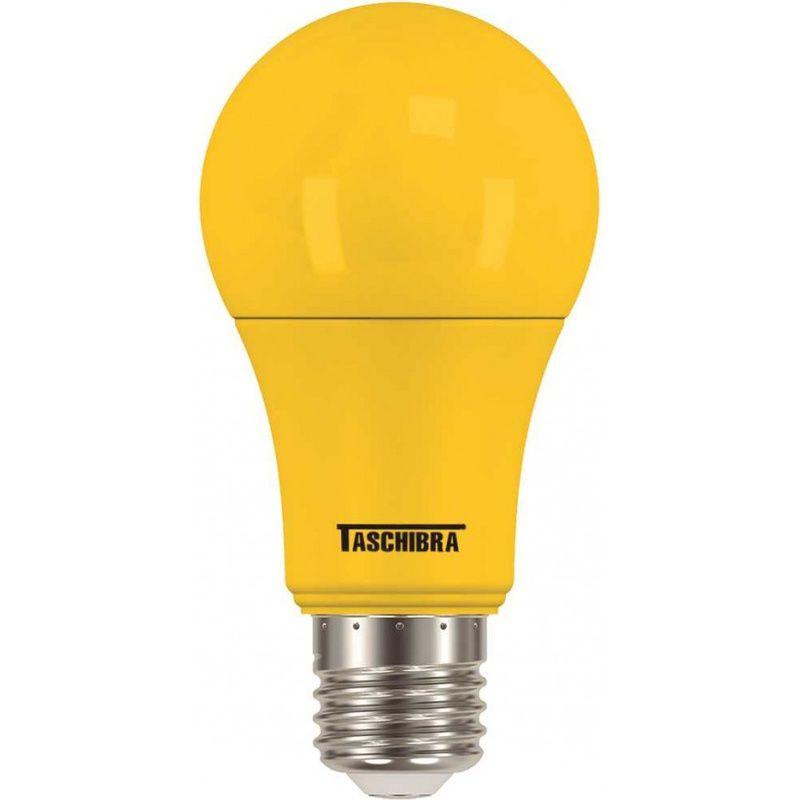 Lâmpada LED TKL Colors 5W Amarela 100/240V Taschibra