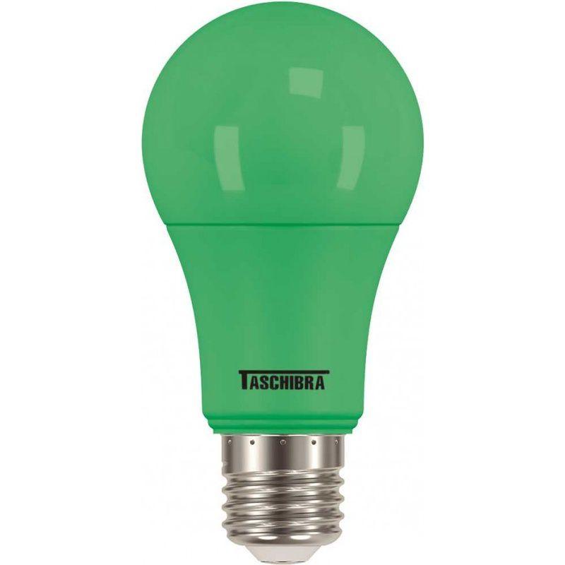 Lâmpada Led TKL Colors 5W Verde 100/240V Taschibra