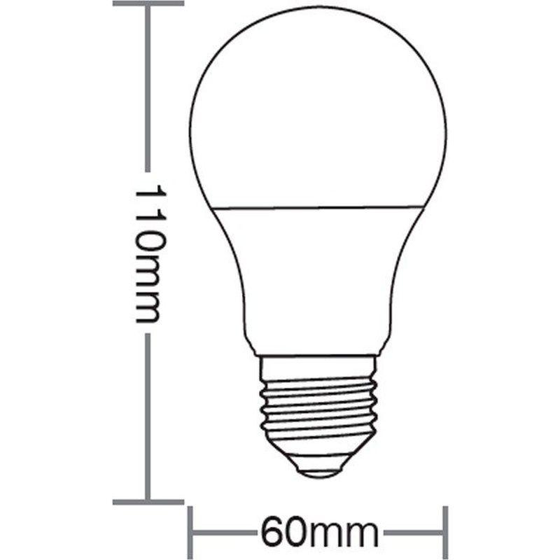Lâmpada Led TKL Colors 5W Vermelha 100/240V Taschibra