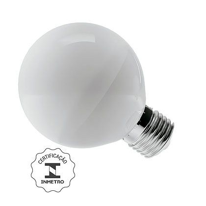 Lâmpada Mini Balloon LED 8W 2700K E27 Bivolt Luminatti