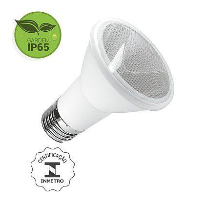 Lâmpada PAR20 LED 6W 2700K E27 Bivolt Luminatti