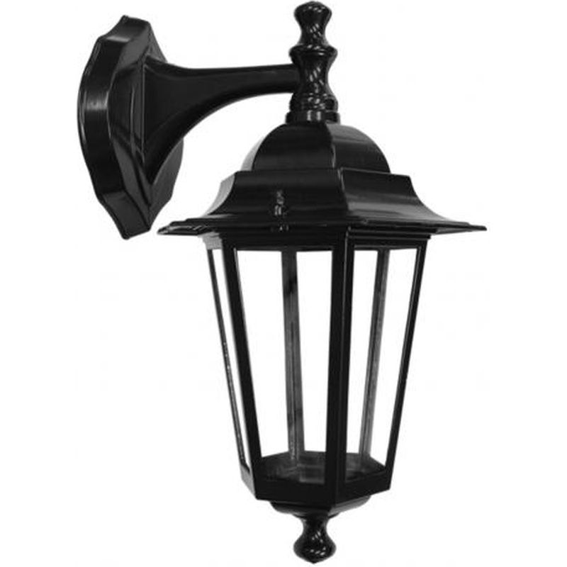 Luminária Parede TLF27 Preto Sem Lâmpada Potência Máxima 60W Taschibra