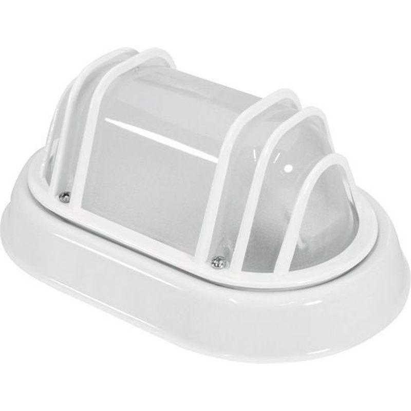 Luminária Tartaruga Suprema Branca Sem Lâmpada Potência Máxima 40W 100x215x140mm Taschibra