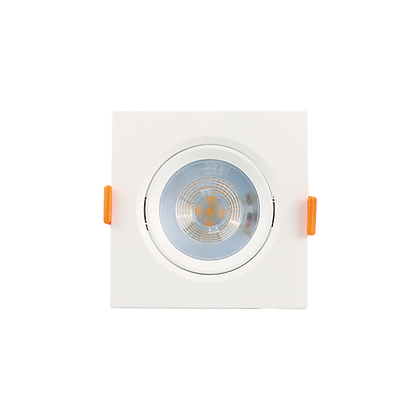 Mini Spot Led 5W 6500K Embutir Quadrado Bivolt Luminatti