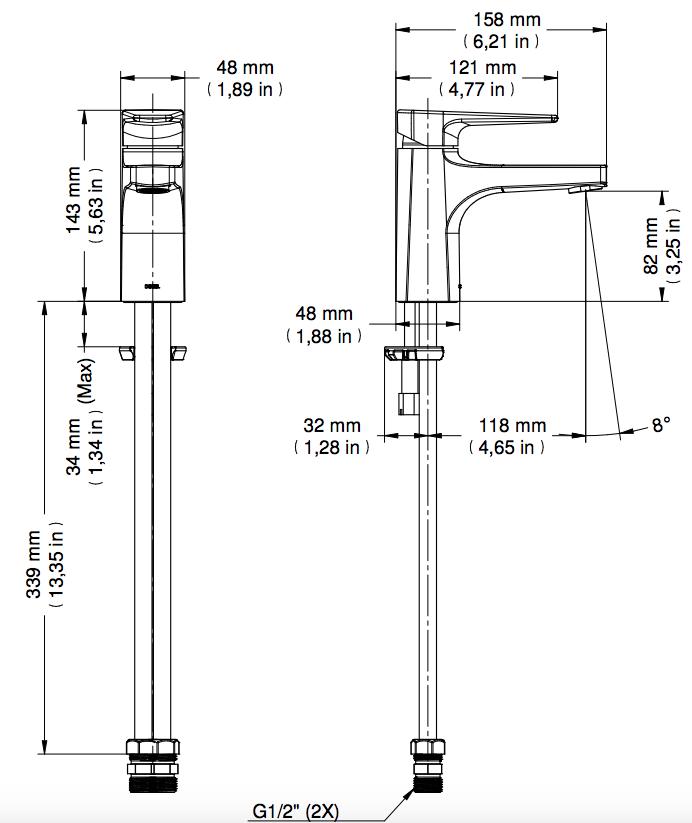 Lift Misturador Monocomando De Lavatório Mesa Cromado Docol