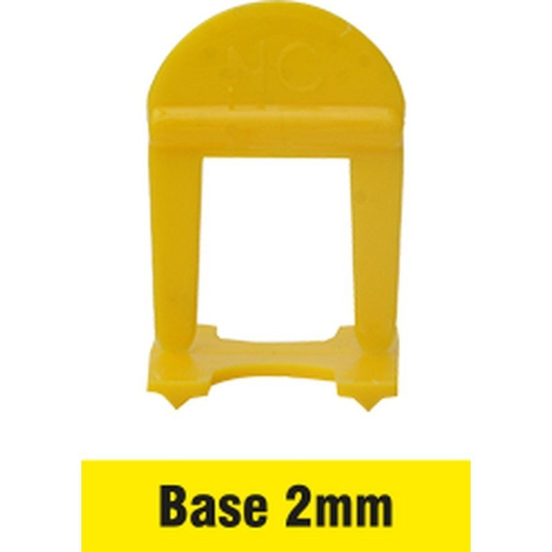Nivelador Espaçador de Piso 2mm (pct 100pçs) Nivelacerto