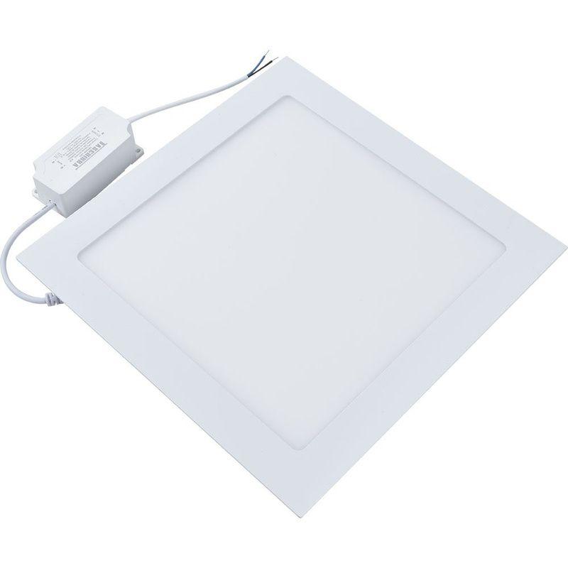 Painel LED 30 Embutir Quadrado 24W 3000K 100/240V Taschibra