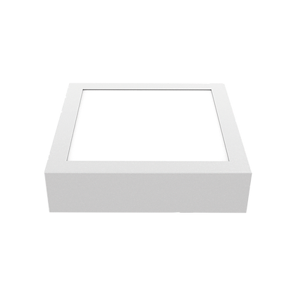 Painel LED Sobrepor Quadrado 24W 2700K Bivolt Luminatti